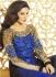 Nargis Fakhri Blue Designer anarkali