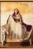 Chandan silk purple and beige color designer wedding wear saree