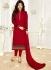Ayesha Takia Maroon color georgette salwar kameez