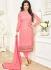Ayesha Takia Rose and Pink color georgette salwar kameez