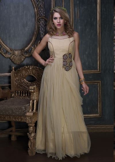Embroidery-work-net-santoon-beige-gown