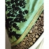 Inspired style offwhite and pista color georgette party wear saree