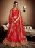 Divyanka Trupati Style Red Georgette Designer Lehenga Choli