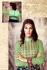 Mint green embroidered georgette party wear anarkali suit