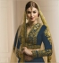 Blue color mudal silk wedding lehenga