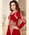 Dia Mirza Groovy Red Georgette Designer Anarkali Suit