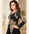 Dia Mirza Black Georgette Designer Anarkali Suit