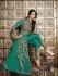 Malaika Arora Khan Resham Work Turquoise Designer Suit