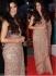 Bollywood Katrina Kaif cream color net saree