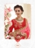 Party wear red pink red color saree