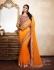 Party-wear-Orange2-color-saree