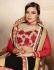 Party-wear-black-red-color-saree