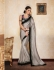 Party-wear-Grey-color-saree