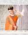 Party-wear-Orange-Red-6-color-saree