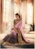 Party-wear-Pink-Black-color-saree