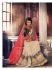 Party-wear-TomatoRed-Beige-color-saree