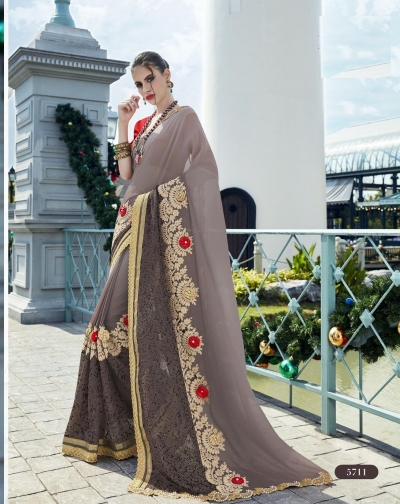 Party-wear-Grey2-color-saree