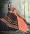 Party-wear-Brown-Peach-color-saree