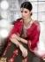 Party-wear-maroon-brown-color-saree