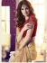 Party-wear-chikoo-red-2-color-saree