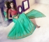 Party-wear-green-pink-color-saree
