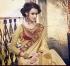 Party-wear-Golden-Maroon-color-saree
