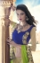 Party-wear-Chikoo-Green-color-saree