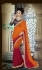Party-wear-Orange-Red-10-color-saree