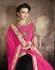 Party-wear-Black-Pink-color-7-saree