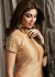 Shilpa shetty golden beige color raw silk lehenga kameez