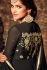 Black color georgette party wear anarkali