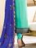 Drashti Dhami sea green color georgette party wear anarkali kameez