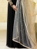 Drashti Dhami black color georgette party wear anarkali kameez