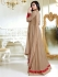 Drashti Dhami light brown color georgette party wear anarkali kameez
