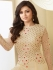 Drashti Dhami offwhitecolor georgette party wear anarkali kameez