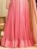 Drashti Dhami pink color georgette and net party wear anarkali kameez