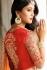 Pink and red color silk wedding lehenga choli