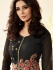 Black color party wear georgette anarkali