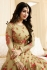 Ayesha Takia beige color georgette anarkali