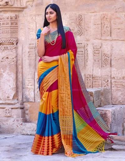 Shaira Wedding Wear Cotton Saree