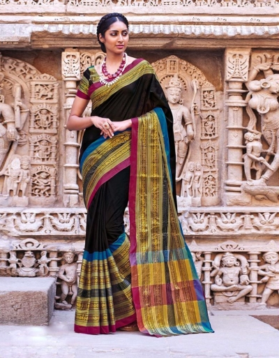 Adrisa Party Wear Cotton Saree