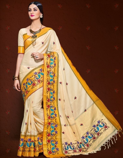 Malhari  Cotton Saree