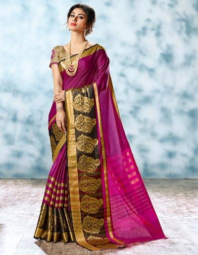 Shalom Designer Cotton Saree