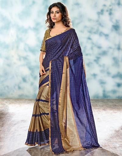Yani Designer Cotton Saree