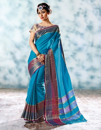Maresa Designer Cotton Saree