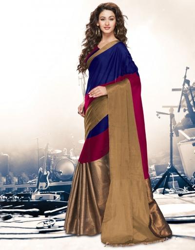 Aryaa Symphony Ruby Party Wear Cotton Saree