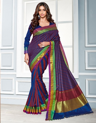 Diana Cotton Saree   s