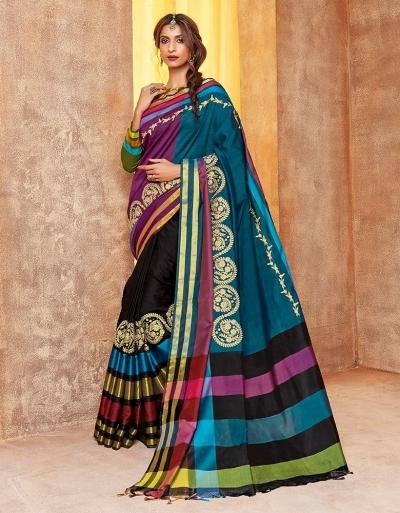 Sindoor Designer Wear Cotton Saree