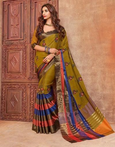 Kalira Designer Wear Cotton Saree