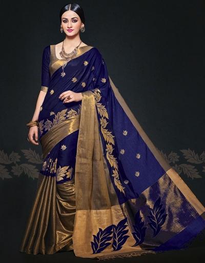 Aryaa August Symphony Designer Wear Cotton Sarees